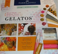 Gelatos Mixed Media Kit