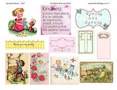 3027 Spring Kindness Printable