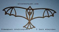 Chipboard Ornithopter Steampunk Bird