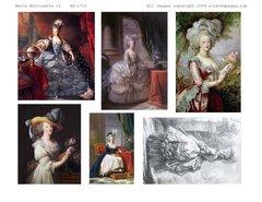 1710 Marie Antoinette 2 Printable
