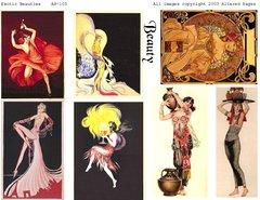 103 Exotic Beauties Printable