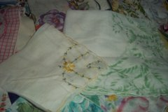 Vintage Hankies  Yellows
