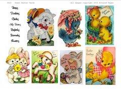 3022 Sweet Easter Printable