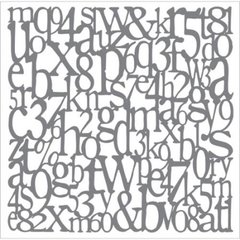 Andy Skinner Stencil 8x8