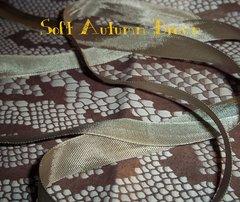 Seam Binding ribbon Soft Brown 5 yds