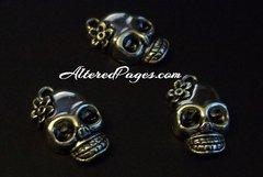Skull with Flower (3)