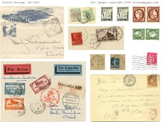 1650 French postage Printable