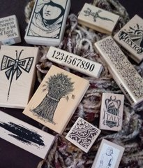 Carefully Loved Rubber Stamps