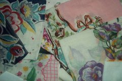 Vintage Handkerchiefs red/pink