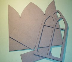 Arched Shrine Triptych