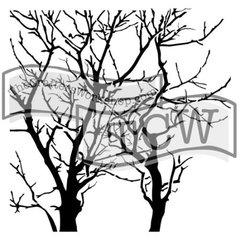 Stencil Branches 6x6