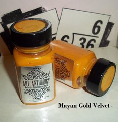 Art Anthology Mayan Gold Velvet