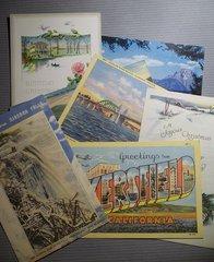 Vintage Postcards 2 pack