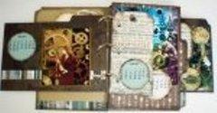 Steampunk Calendar Perpetual