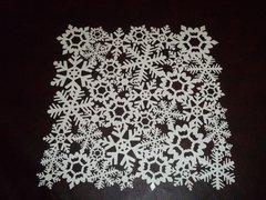 Snowflakes that Glitter