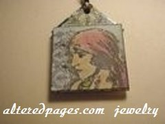 Gypsy Jewelry Tag