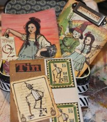 Wizard of OZ Tin with ATC's