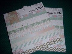 6x6 Paper Pads Carpe Diem