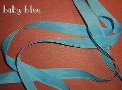 Seam Binding ribbon Baby Blue (5yd)