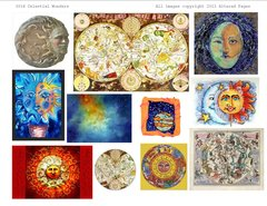 3016 Celestial Images Printable