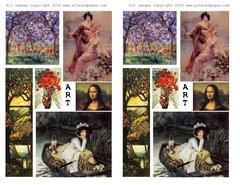 101 ART double Printable