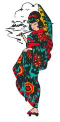 Geisha Girl Tee