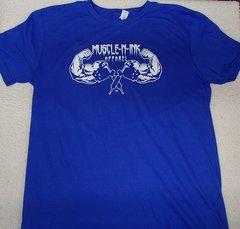 Basic Royal T-Shirt (front & back)