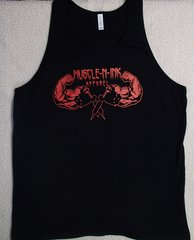 Mens Black Tank (front Only)