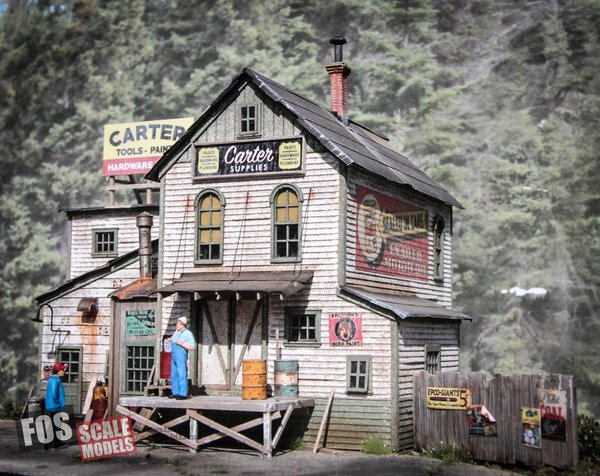 Carter Supply Ho Scale Kit Fos Scale Models Llc