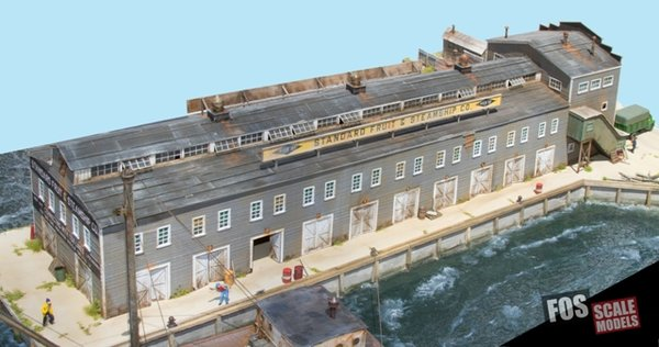 Pier 27 Ho Scale Kit Fos Scale Models Llc