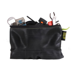 Green Guru re-use inner tube zipper pouch