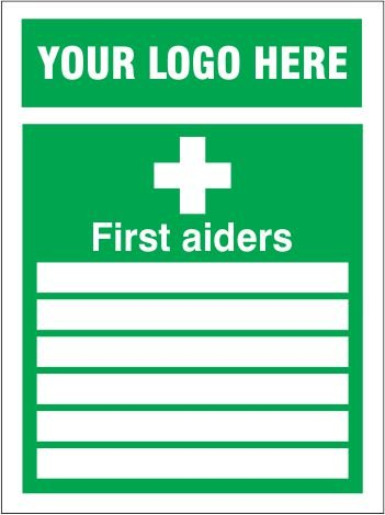 Safety Signage First Aid Sign Fad1009 First Aiders
