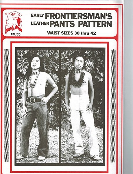 Pattern - (M) Early Frontiersman's Leather Pants