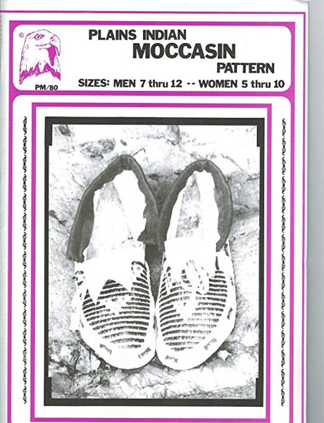 Pattern - (U) Plains Indian Moccasins