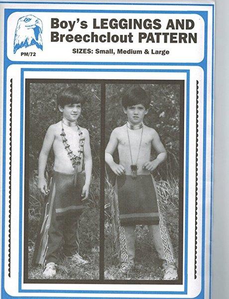 Pattern - (B) Boy's Leggings and Breechclout