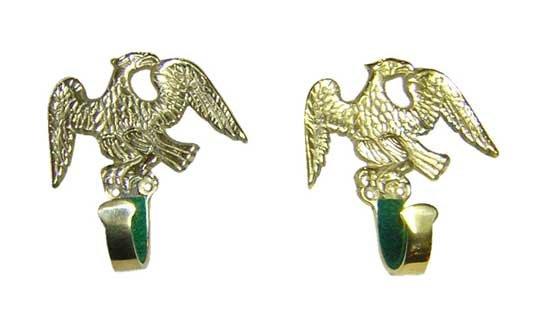 Gun Hanger- Brass Eagle