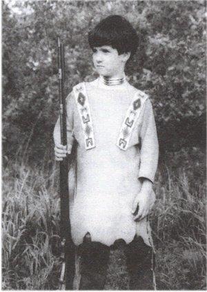 Pattern - (B) Boy's Indian War Shirt