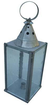 Ladies Square Glass Lantern