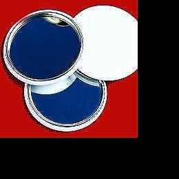 Toiletries: Metal-Backed Mirror