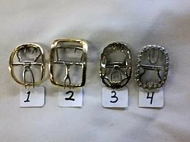 Brass Shoe Buckles