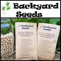 Heirloom Spring/ Summer Vegetable and Herb Seed Selection #3