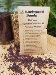 Heirloom Vegetable Collection #1 Autumn/Winter (15 Varieties)