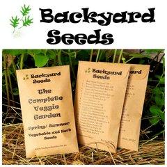 Complete Veggie Garden Spring/ Summer (20 Packets)