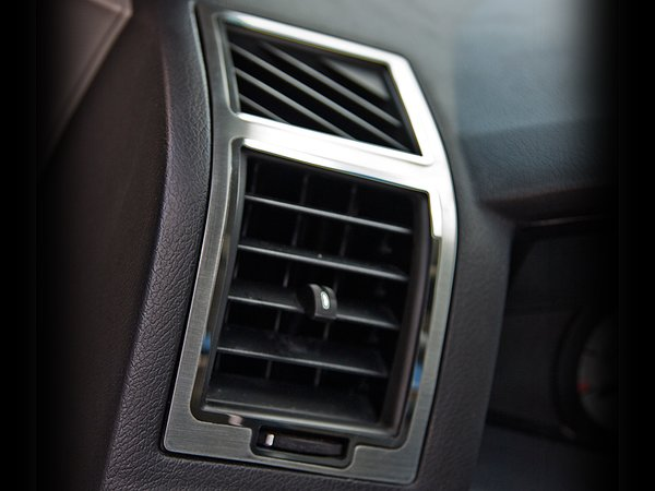 Chrysler 300 charger magnum a c vent trim outer 2pc - 2010 dodge charger interior trim ...