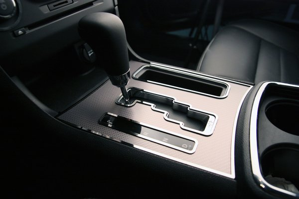 Dodge charger shifter plate trim rings polished 4pc 2011 - 2010 dodge charger interior trim ...