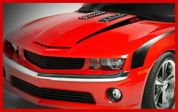 Chevy Camaro Rs Hood Spears Factory Stripe Graphic Decal