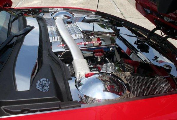 2012 2013 Camaro Zl1 Radiator Cover W Cap Cover Polished