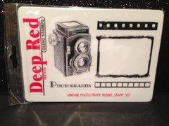 Vintage Photo Frame Rubber Stamp Set