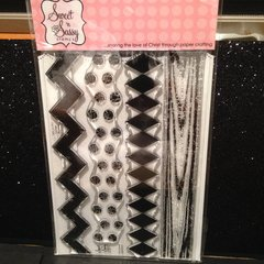 Grunge Borders - Clear Stamp Set