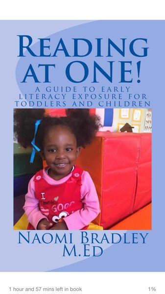 Reading At One... A guide to early literacy exposure for toddlers and children